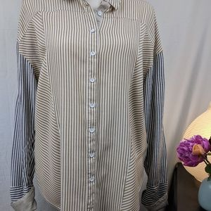 Free People Button Down Shirt S